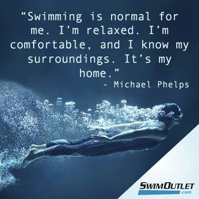 Literally a description of how i feel about swimming, i just love it.