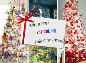 Add a pop of colour this Christmas with these cute decorations. Bold, Unique and Brave!