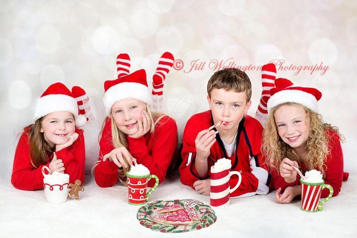 Weihnachtskarten-Fotos zuhause fotografieren