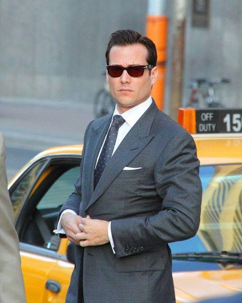 Gabriel Macht alias Harvey Specter / TOM FORD Suit