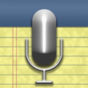 Audionote Notepad and Voice Recorder syncs typed notes with recorded audio for students who struggle with written production or organization.