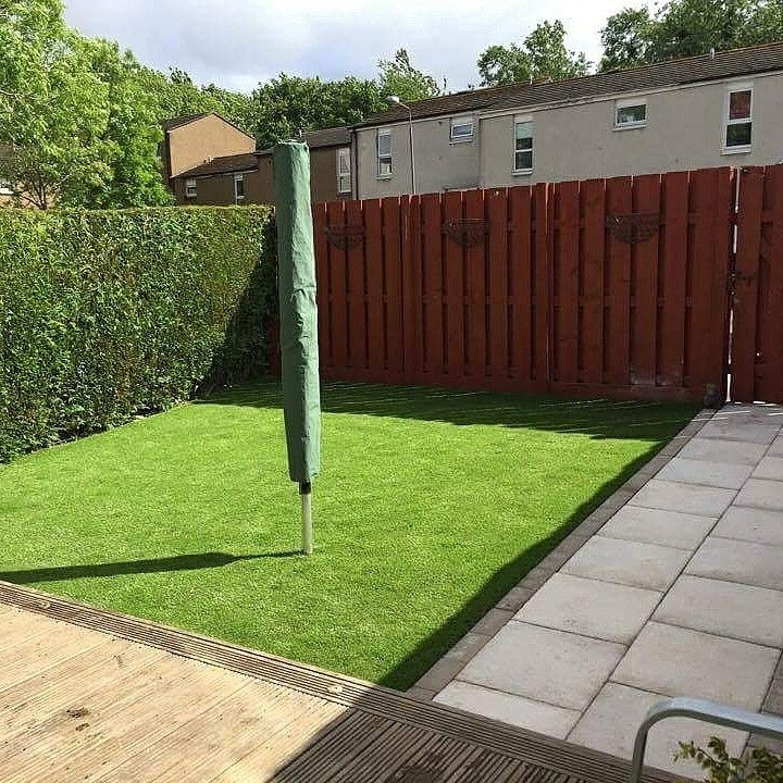 May it be a putting green, the kids' play area or your pets' safe corner, artificial grass will do the job perfectly! ;)  #WestLothianLandscapeDesign #artificial #fakegrass #artificialgrass #astroturf #grass #syntheticgrass #syntheticturf #garden #landscape #gardening #scotlandUK