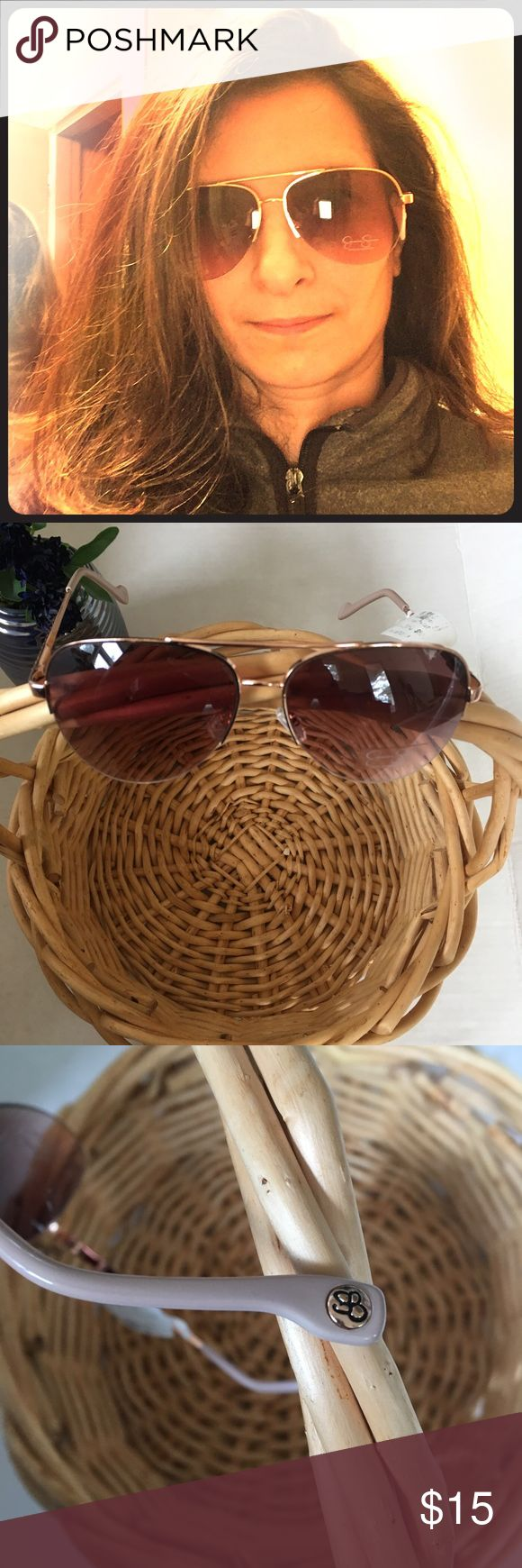 🌞NEW Jessica Simpson Aviator Sunglasses New with tag. Aviator style Jessica Simpson sunglasses. PLEASE NOTE: minor scratches on front lense as seen in last photo.   🛍BUNDLE=SAVE  🚫TRADE  💯Authentic   🖲USE BLUE OFFER BUTTON TO NEGOTIATE   ✔️Ask Questions Not Answered in Description--Want You to Be Happy! Jessica Simpson Accessories Sunglasses