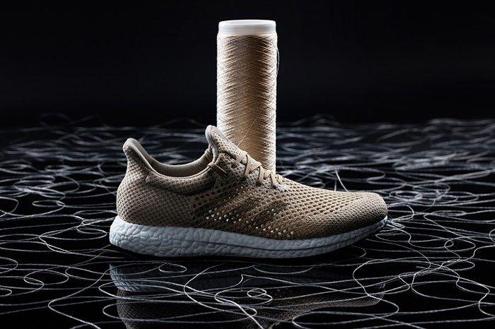 Adidas lança primeiro tênis de performance criado com fibra biodegradável - http://anoticiadodia.com/adidas-lanca-primeiro-tenis-de-performance-criado-com-fibra-biodegradavel/