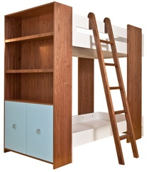 "Weego Classic Bunk Bed (Weego Signature Collection)	  2157	  Overall Size: 89""l x 44""d x 77""h"