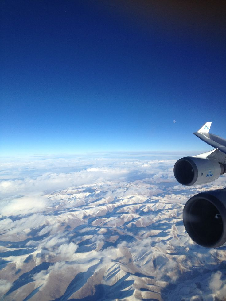 Somewhere over the world.....