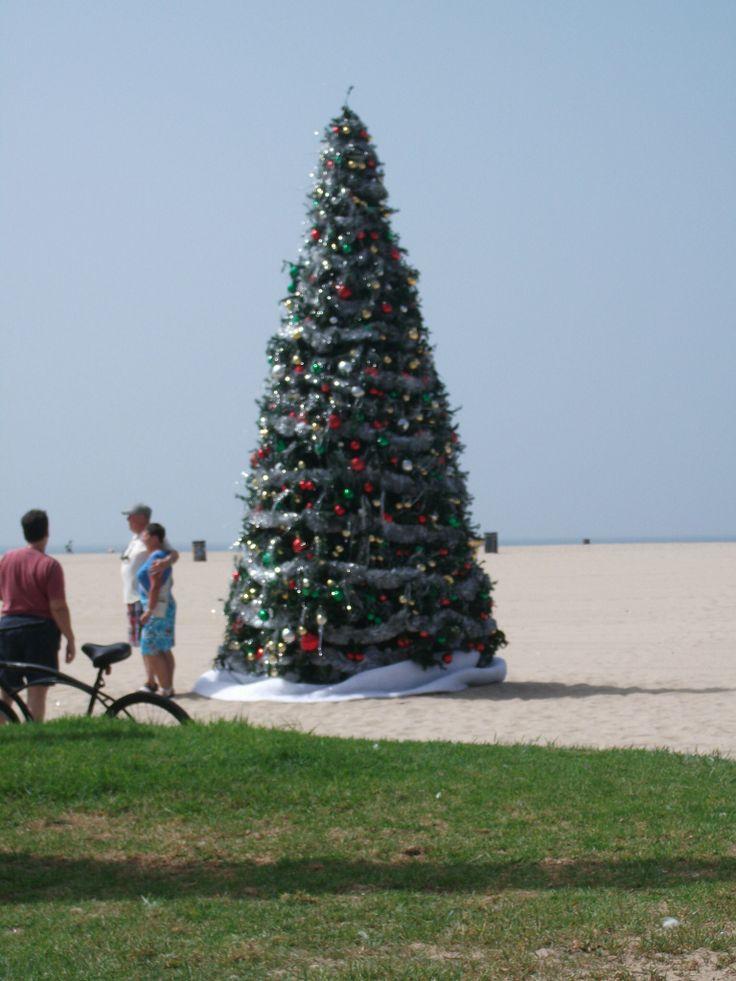Preparativi per il Natale a Venice Beach - Los Angeles