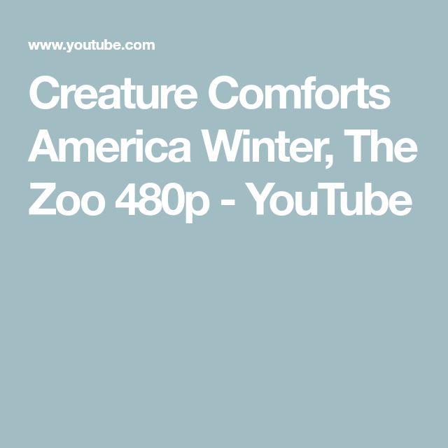 Creature Comforts America   Winter, The Zoo 480p - YouTube