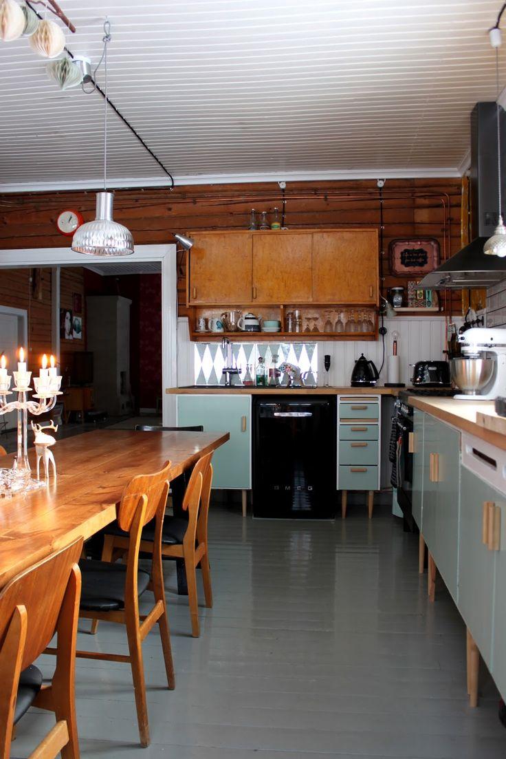 Riuttala Old School: Uudistettu keittiö