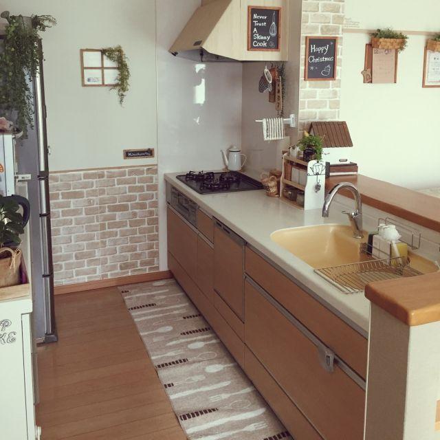 ... 黒板風,キッチン,のお部屋写真
