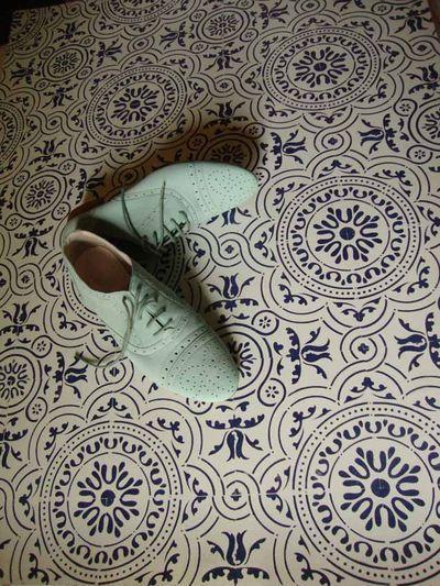 floor painting stencils