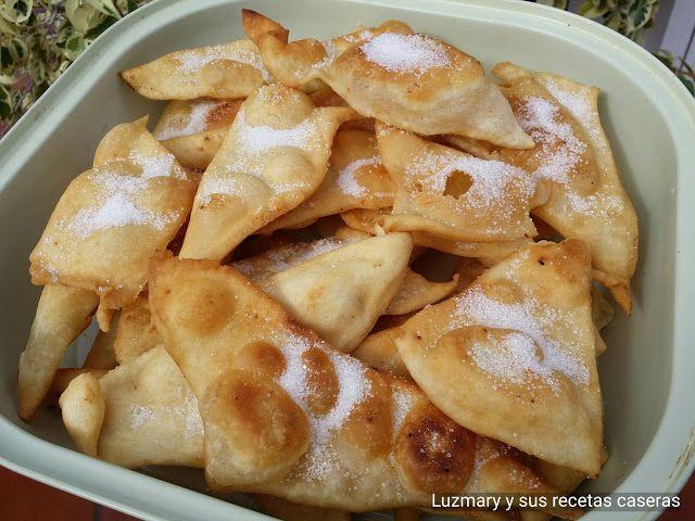 Luzmary y sus recetas caseras: OREJAS DE CARNAVAL ( THERMOMIX )