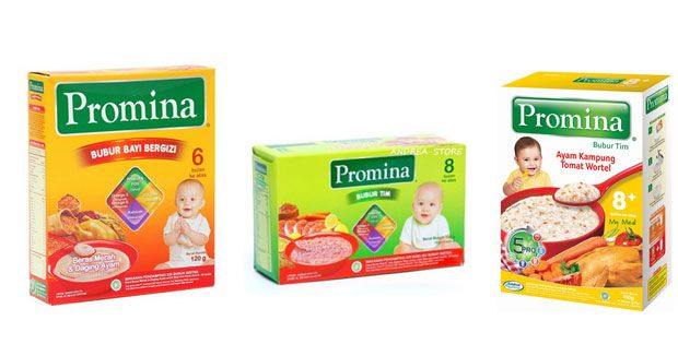 Harga Bubur Bayi Promina Terbaru 2017 – Makanan terbaik memang ASI namun ada kalanya pada usia tertentu bayi juga butuh makanan pendamping yang memiliki tekstur lembut dan memenuhi kandungan gizi.