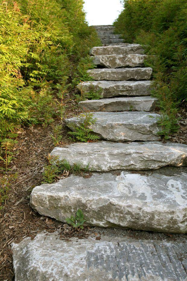 25 melhores ideias sobre jardim inclinado no pinterest for Jardines en desnivel