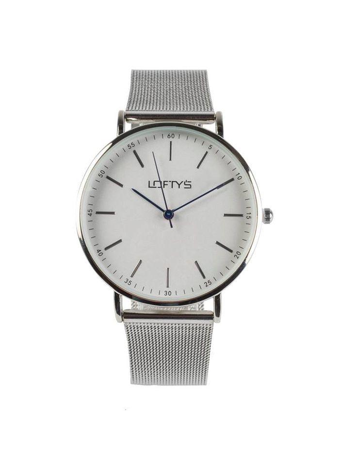 Watch with Silver Metal Bracelet Y 2006SW - https://www.loftyswatches.com/shop/watch-silver-bracelet-y-2006sw/