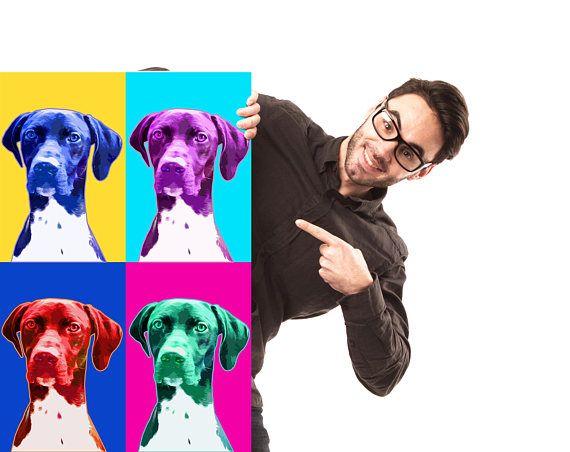Custom dog portrait Custom pet portrait Dog portrait custom