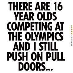I still push on pull doors