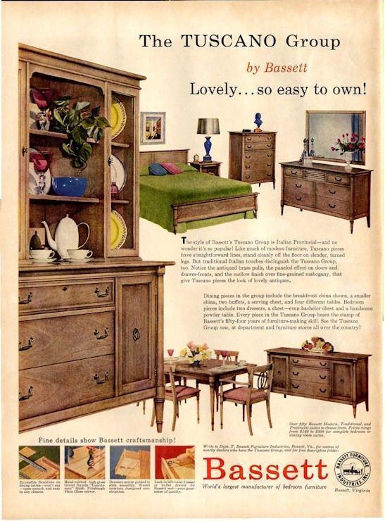 Delightful Search Results For: U0027vintage Bassett Furniture Adsu0027
