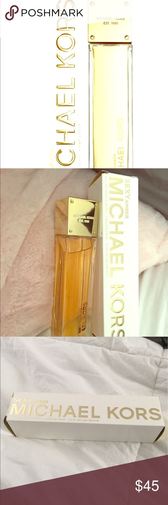 Micheal Kors perfume New bottle of Micheal Kors Sexy Amber Parfum. Retails in department stores for $100. I opened it to take pics. Eau de parfum spray, 3.4 for. oz. Michael Kors Other