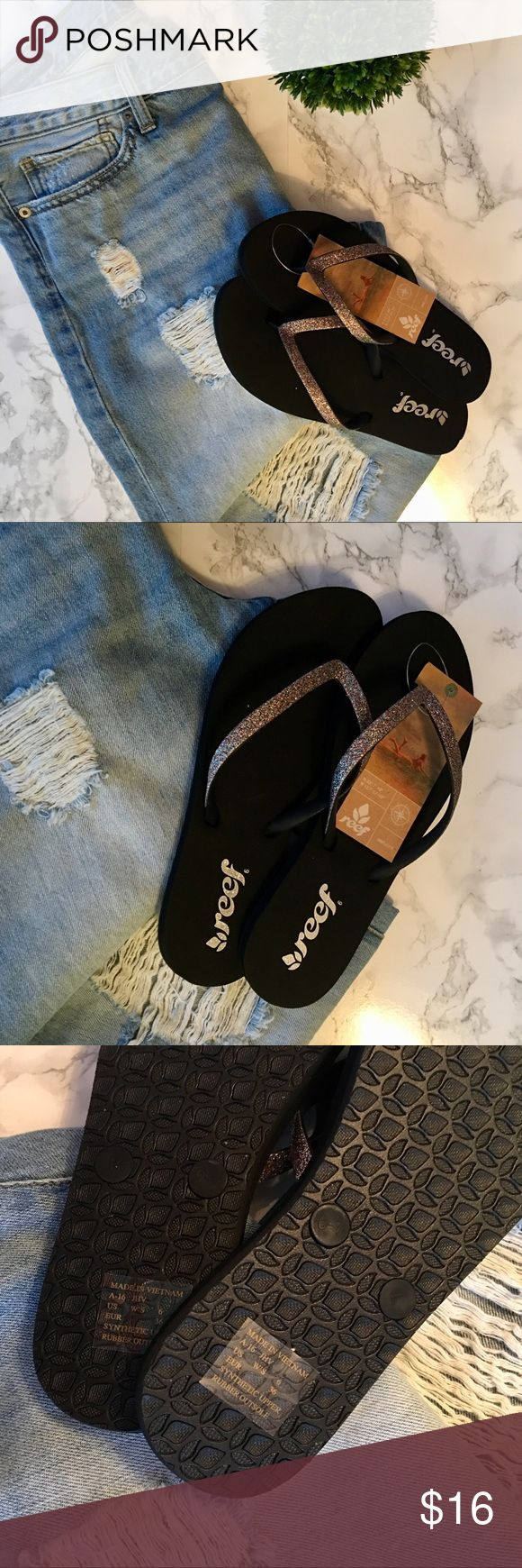 Women's Reef Flip Flops Details: New With Tags Women's Reef Flip Flops  Style: Thong, Flip Flops Size: 6 Brand: Reef Condition: New with Tag Reasonable offers considered. 🙂 Please be considerate.   Bundle and save! 📦📭  Thank you for stopping by to check out my closet! 🙂 Reef Shoes Sandals