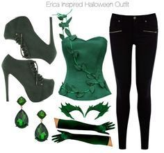 poison ivy diy costume jeans - Google Search