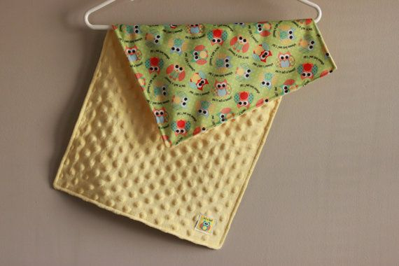 Waterproof Travel Changing Pad in Owls by GreenBabysDiaperBag, $13.80