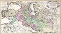 This is a really old and really cool historical map of Persia from the year 1730 (told you it was really old!).