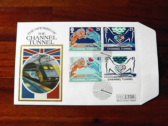 Mercury Silk Cover The Opening of the Channel Tunnel 1994 £3.99