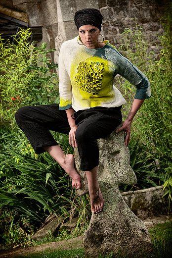 Françoise Christien   Artiste textile feutrière