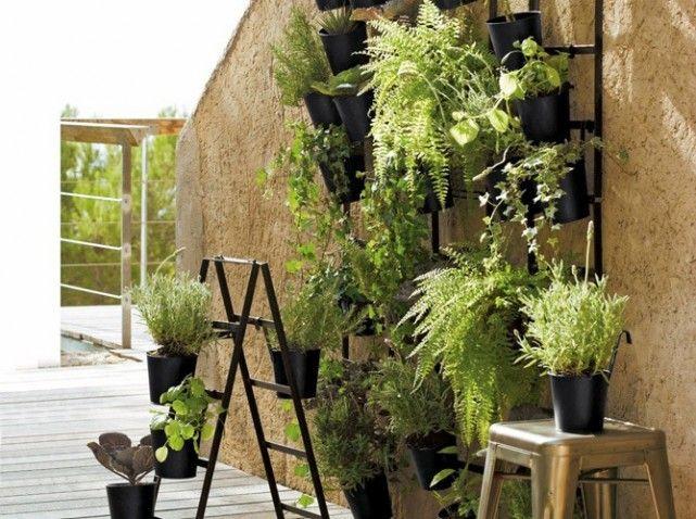 Pin by danielle yeager heizenroth on garden pinterest - Decoration de terrasse avec pots de fleurs ...