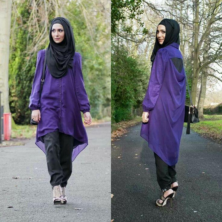 Shirt Jacket Hijab Muslimah Fashion Fashion For