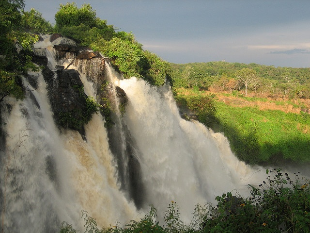 Boali Waterfalls - Central African Republic