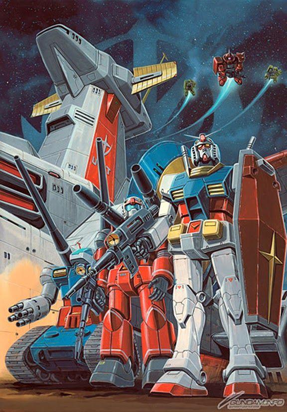 Gundam poster from 1980.