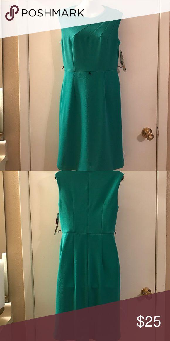 Aqua dress Brand new aqua color dress! madison leigh  Dresses Midi