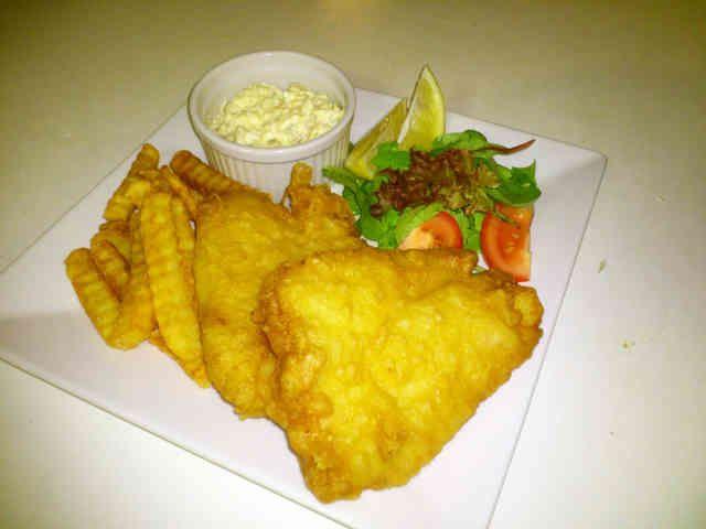 簡単白身魚のフィッシュアンドチップス