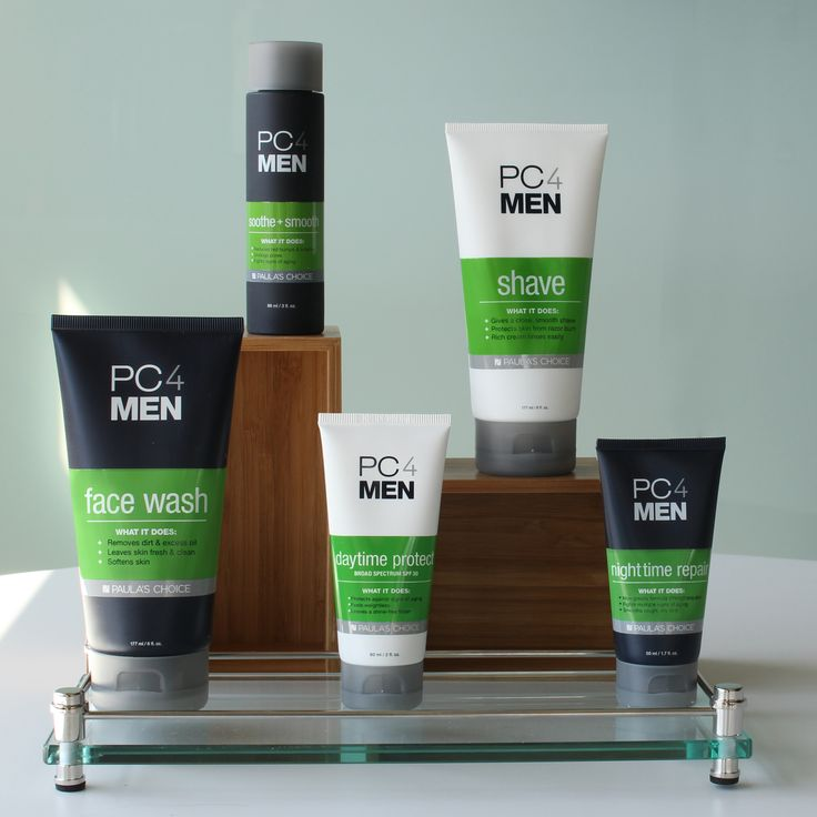 Even the thickest skin needs some love. Our new men's skincare line PC4Men has everything he needs (and nothing he doesn't). #PaulasChoice #MenSkinCare