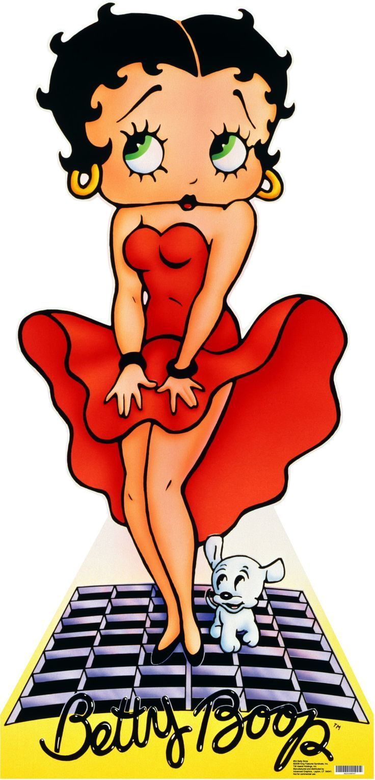 Features:  -Betty Boop collection.  -Cardboard material.  -Can be mounted to a wall, a door, or stand by itself.  Theme: -Character/Movie, Music, TV and people.  Mount Type: -Stand-up.  Life Stage: -A