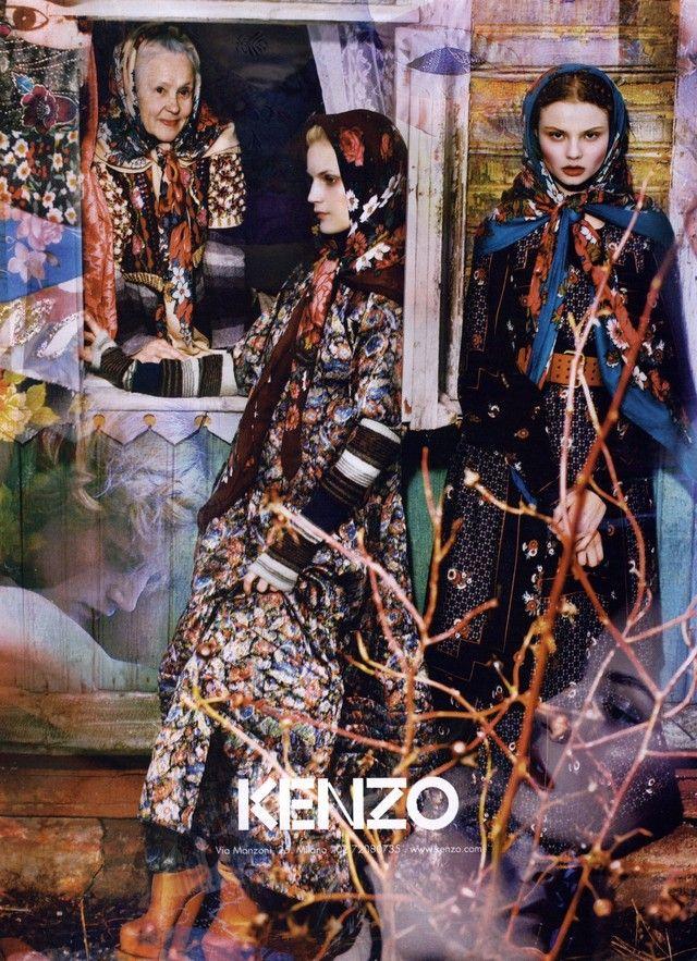 Kenzo Ad Campaign Fall/Winter 2009