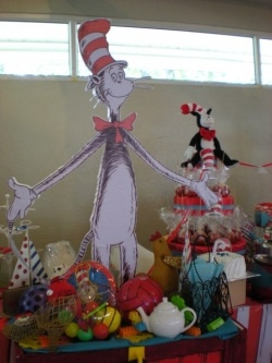 Cat in the Hat by Dr. Seuss inspired theme birthday party