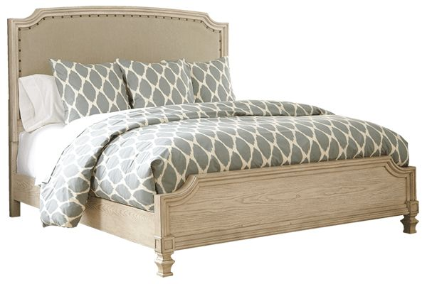Ashley Furniture Demarlos Bedroom Collection. The nightstand has build in USB charging ports and grounded receptacles!