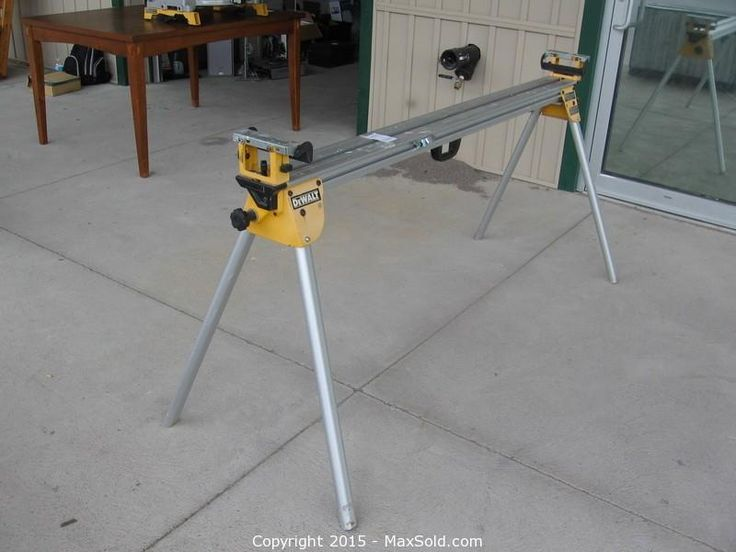 MaxSold - Auction: Peterborough Downsizing Online Auction -Mitre Saw Stand