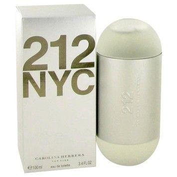 Carolina Herrera 212 By Carolina Herrera Eau De Toilette Spray (New Packaging) 3.4 Oz