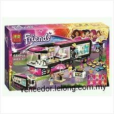 Lego Compatible Bela 10407 Friends series Pop Star Show Stage Block