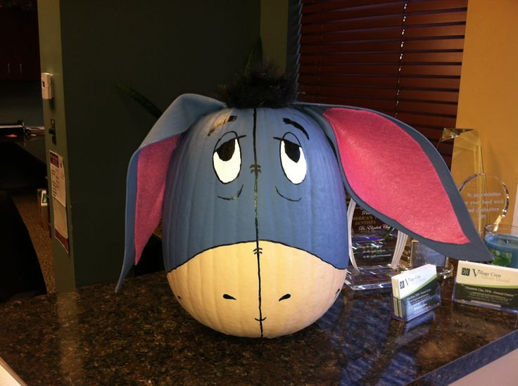 Eeyore Pumpkin Holiday Time Pinterest Pumpkins And