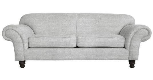 - Churchill       Fully Upholstered Couch (  Capset - 2 - Mist )