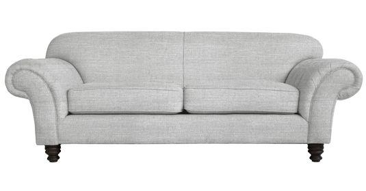 - Churchill       Fully Upholstered Couch (  Capset - 2 - Mist )