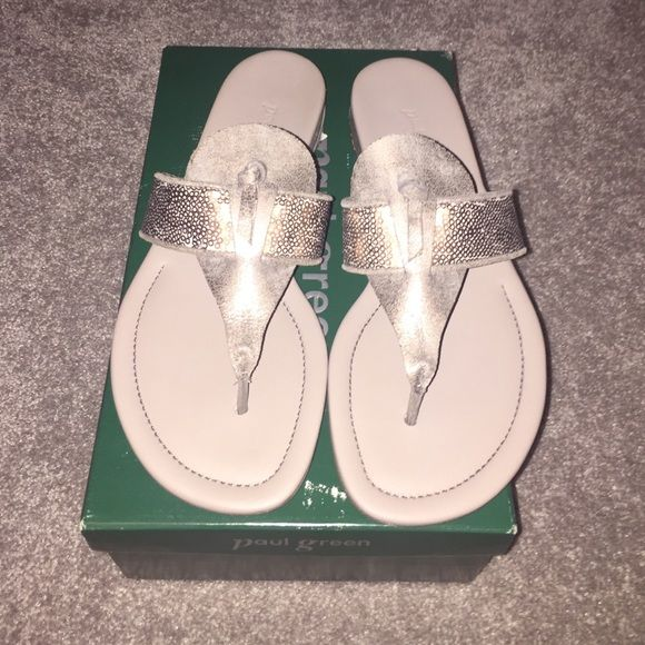 PAUL GREEN Smoke rosewood size 9 1/2 sandals. NWT PAUL GREEN Smoke rosewood size 9 1/2 sandals. NWT.  Austrian luxury footwear brand Paul Green creates versatile, fashion-forward designs enriched by supreme fit and quality. Paul Green Shoes