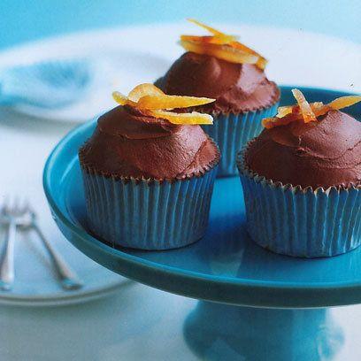 Lola's gluten-free orange chocolate cupcake | Cupcake recipes | Red Online