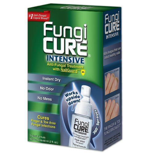 FungiCure Intensive Anti-Fungal Pump Spray, 0.21 Box by FungiCure. Save 33 Off!. $16.77. FungiCure Intensive Anti -Fungal Pump Spray