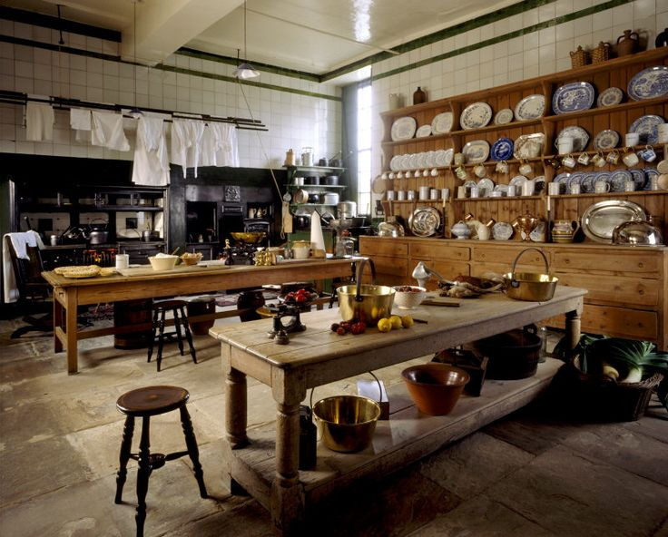 The interior of the Kitchen at Wallington, Northumberland | National Trust Images